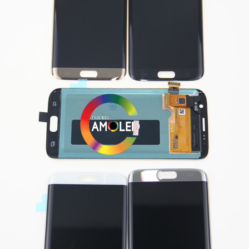 Replacement for <font><b>SAMSUNG</b></font> <font><b>Galaxy</b></font> <font><b>s7</b></font> edge G935 G935F LCD <font><b>Display</b></font> Digitizer Assembly+Tools image