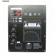 New Assembly High-Power 280W 1.0 Digital HIFI Subwoofer Amplifier Board active amplifier board home amplifier for subwoofer freeshipping tda7294 high power 100 w 1 0 subwoofer amplifier board level before 5532 diy kit