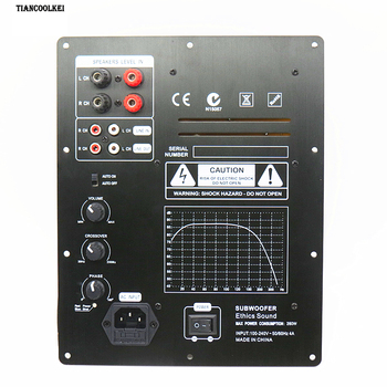 New Assembly High-Power 280W 1.0 Digital HIFI Subwoofer Amplifier Board active amplifier board home amplifier for subwoofer tpa3116 digital amplifier board bluetooth 4 2 high power 2 1 hifi subwoofer bass module