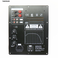 New Assembly High Power 280W 1.0 Digital HIFI Subwoofer Amplifier Board active amplifier board home amplifier for subwoofer