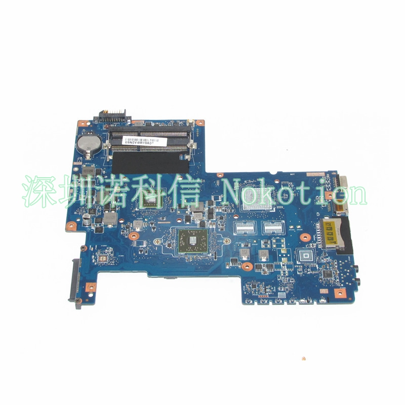 NOKOTION  Laptop motherboard For Toshiba Satellite C670 C670D PN 08N1-0NG0J00 H000036110 Mainboard works ytai l740 a000093450 hm65 date5mb16a0 mainboard for toshiba satellite l740 l745 laptop motherboard a000093450 hm65 date5mb16a0
