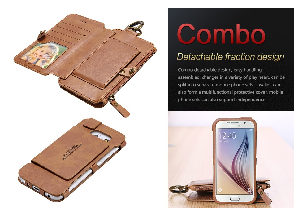 Retro Leather Wallet Case For Samsung Galaxy Note 7Note5Note 3Note 4 S7S6S6 Edge Plus Cover FlipCard Holder Capa Phone Bag (8)