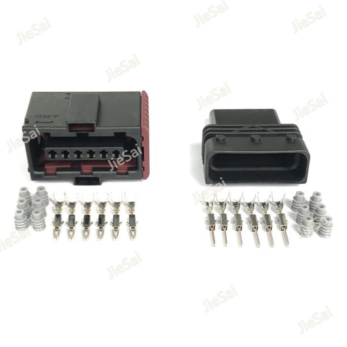 6 Булавки tyco педаль акселератора Сенсор разъем для Chevrolet Fiat Hyundai VW AUDI Kia Mitsubishi 6-929264-2 6-929265-2