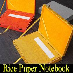 Chiński papier ryżowy Notebook składane Xuan papieru książki do malowania kaligrafii sztuki malowania dostaw zestaw