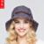 2016 Nueva Señora Visera Sombrero de Señora 5 Colores UV protector solar Verano Sombrero de Ala Ancha Plegable A Prueba de Viento Anti-Ultravioleta Al Aire Libre Caps B-3705