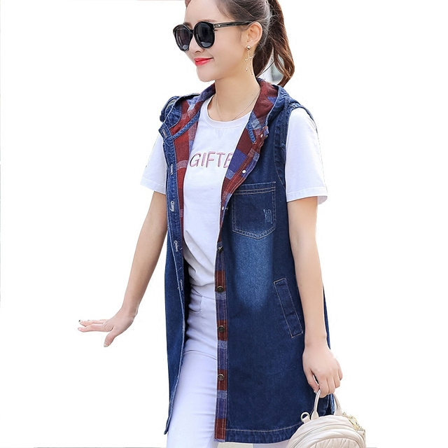 9237787accf Grande-Taille-Jeans-Sweat-Capuche-Gilets-de-Femmes-Long-Slim-Jeans-Femme -Gilets-Vintage-Casual-Sans.jpg 640x640.jpg
