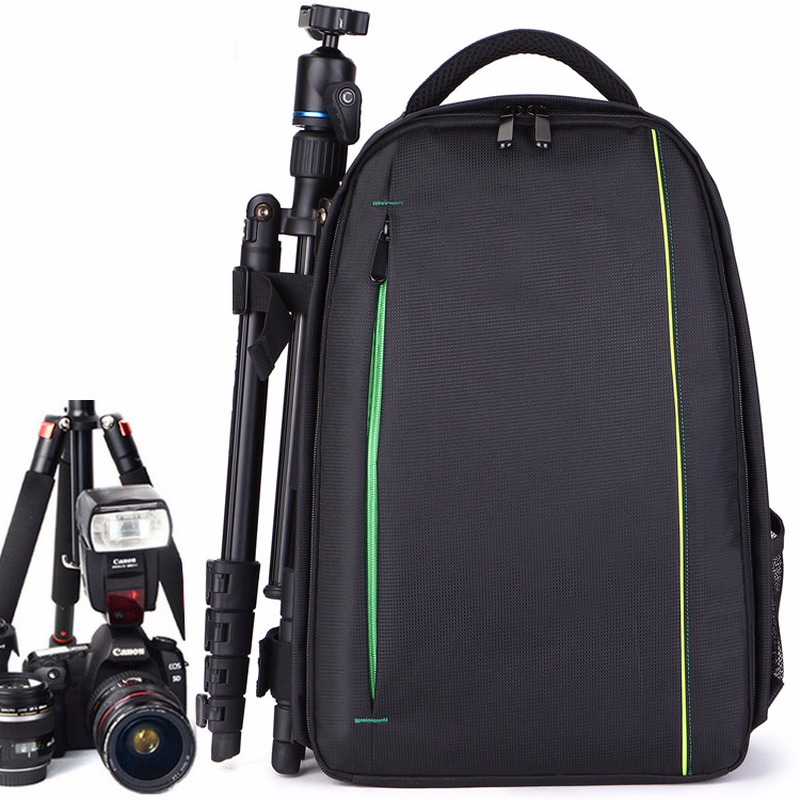 Professional SLR Camera Bag Photography Double Shoulder Knapsack Unisex Travel Anti-theft Waterproof Computer Digital Package eirmai slr camera bag shoulder bag casual outdoor multifunctional professional digital anti theft backpack the small bag