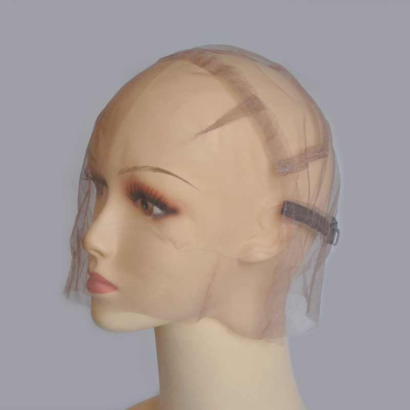 Full Strong Swiss Lace Wig Cap For Making Wigs With Adjustable Straps Customizing Wigs Size SM