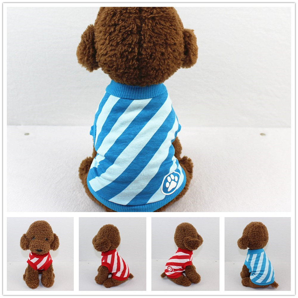 Small Dogs Costume Clothes For Little Dogs Overalls Dog Clothing Cotton Vest Puppy Costume For Small Dog