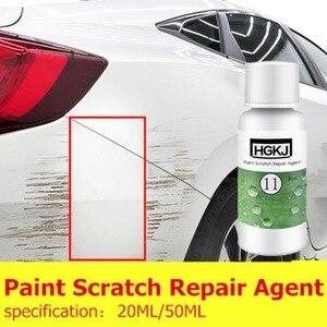 Image 4 - 20 ml 50 ml HGKJ 11 자동차 스크래치 수리 액체 연마 왁스 페인트 스크래치 수리 에이전트 자동 폴란드어 유리 페인트 관리 유지 보수