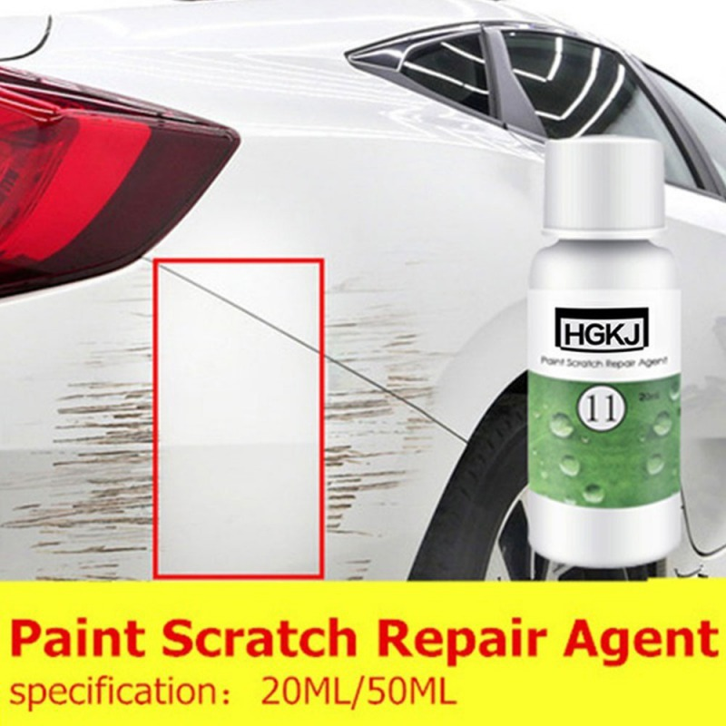 Image 4 - 20ML 50ML HGKJ 11 Car Scratch Repair Liquid Polishing Wax Paint Scratch Repair Agent Auto Polish Glass Paint Care Maintenance-in Paint Protective Foil from Automobiles & Motorcycles