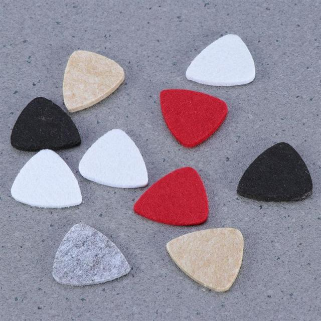 Felt Guitar Picks 10 pcs/Set