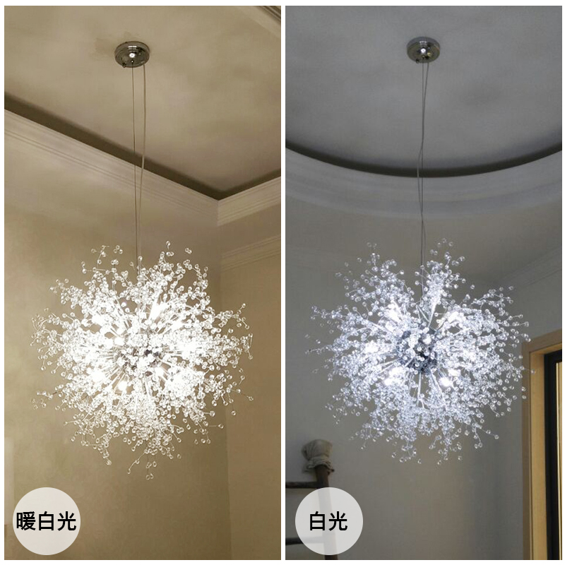 creative personality modern villa lamp living room bedroom sky star pendant light home decorative lamp stairs corridor - Star Pendant Light