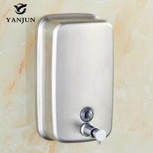 Yanjun Wall Mounted l Hand Soap Dispenser Washroom S. Steel 304 Manual Liquid Shower Gel YJ-2613
