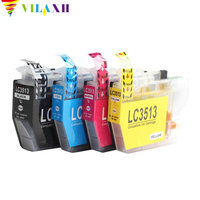 Vilaxh For Brother lc3511 lc3513 Ink Cartridge compatible For Brother DCPJ572DW MFCJ491DW MFCJ690DW MFCJ890DW printer