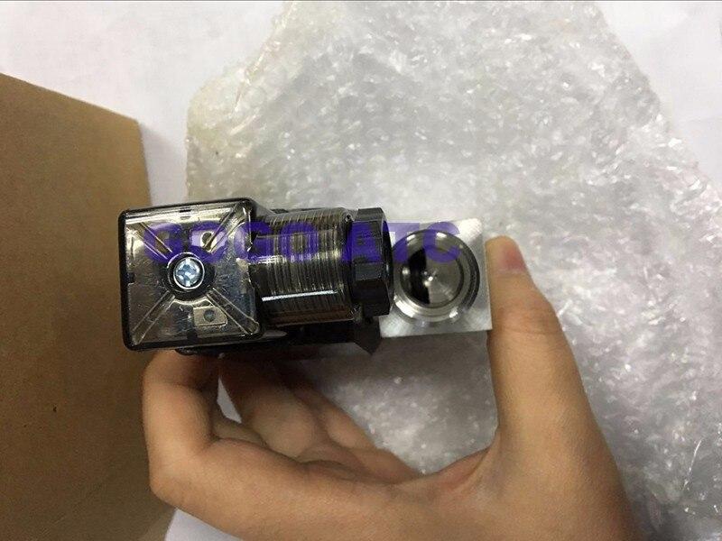 """GOGO 1 бар нормально закрытый прямого действия Нержавеющая сталь Малый газ CE 2 способ электромагнитный клапан 1/"""" BSP AC220V 8 мм NBR FKM"""