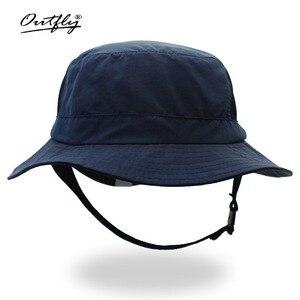 Image 1 - Outflyใหม่สไตล์ถังหมวกหมวกชาวประมงครีมกันแดดแคมเปญเหมาะสำหรับกิจกรรมกลางแจ้งผู้ชายและผู้หญิง