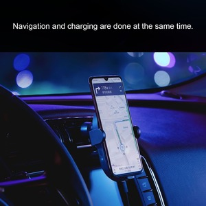 Image 5 - Xiaomi QI Wireless Charger Car Mount Holder Stand For iPhone XS Max Samsung S9 For Xiaomi MIX 2S Huawei Mate 20 Pro Mate 20 RS