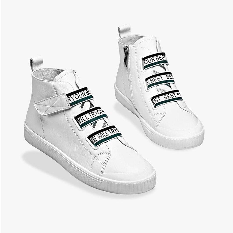 Chaussure Solide Universitaire Mode Loisirs Pa159 Couleur Dame Simple Cuir Jane Tennis En Nouveau Hautes Chaussures Femmes Féminine pf199 Style Harlow Pour wn6q47