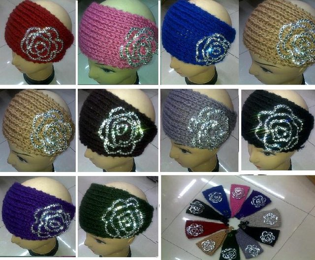 HOT SALE  2012new style  handmade women headbands  with Diamond ,can mixed +EMS/DHL  free shipping