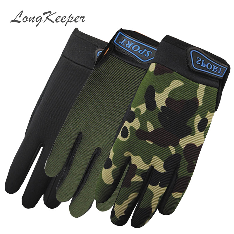 Back To Search Resultsapparel Accessories Useful Longkeeper Autumn Winter Kids Gloves Children Full Fingers Army Camo Black Mittens 5-13 Years Old Anti-slip Wrist Guantes G326
