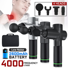 4000r/min Therapy Massage Guns 3 Gears Muscle Massager Pain