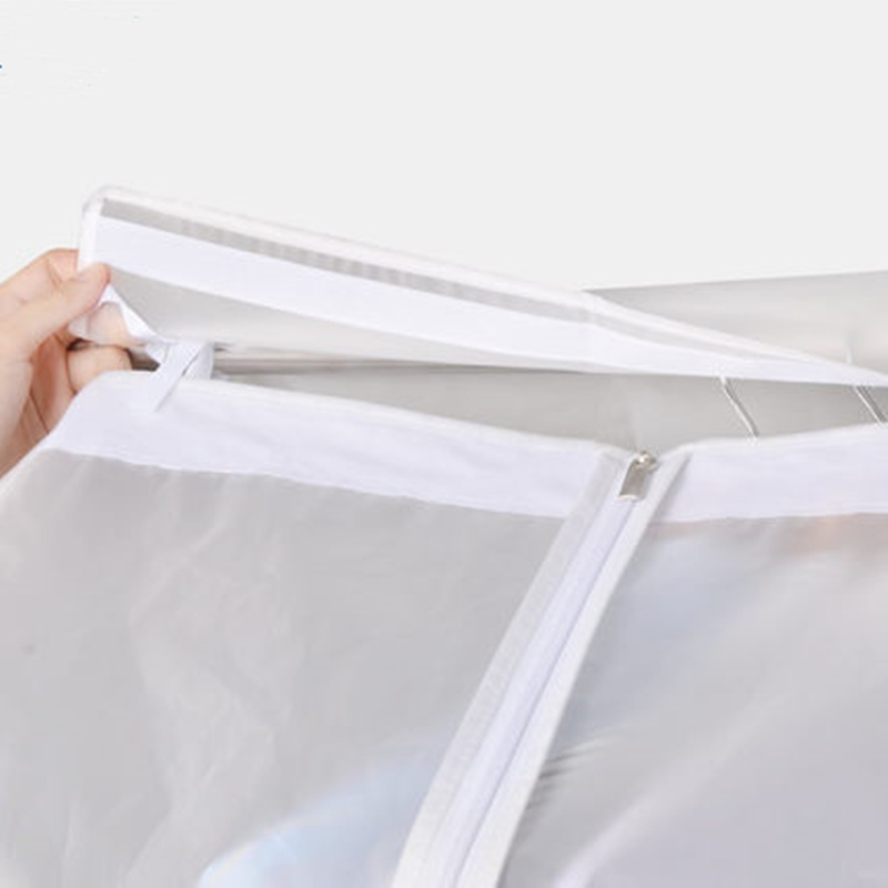Image 5 - High quality hanging clothes dust cover cases suit bag cover case Dustproof Storage Bag , three dimensional,Free shipping.Clothing Covers   -