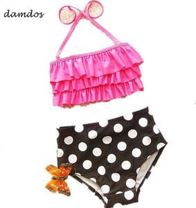028cbdd5df 2018 Kid s Swimsuit Bikini Girls Female Baby Bikini Baby Girls Biquini  Swimwear