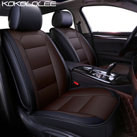 KOKOLOLEE Pu Leather Car Seat Cover For Subaru Tribeca Legacy Outback Impreza Forester XV Car Styling