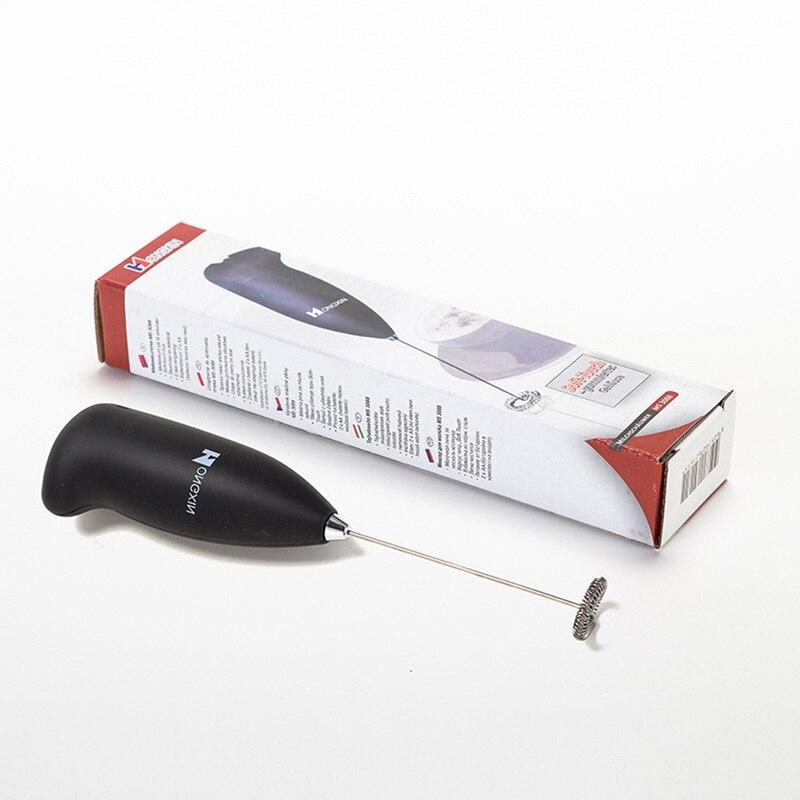 1pc elétrico batedor de ovo leite bebida café batedor misturador espuma mini lidar com agitador prático cozinha ferramenta