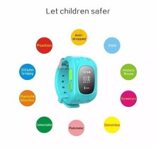 Sos GSM GPS Children Kid Tracker Position Watch Sport Smart Phone Watch for Elder Children(China)