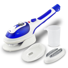 Electric Iron Steamer For Ironing Clothes Handheld Garment Steamer Vertical Portable Travel With Steam Brush EU/US 110V/220V 1pc 220v electric clothes steamer steam iron household steam wireless handheld mini iron vertical ironing machine