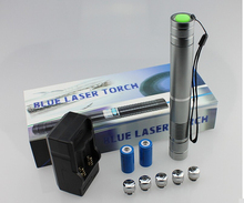 Professional Super Powerful Military Blue laser pointers 450nm 100W 100000M Flashlight burning burn match dry wood/cigarettes hot high power military 450nm blue laser pointer 100w 100000m lazer pen burning match dry wood black burn cigarettes hunting