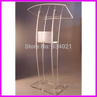 Practical Modern Design Acrylic Podium, Pulpit Furniture
