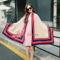 Nuove Donne Sciarpa di Inverno Coperta di Finto Cachemire Rosa Sciarpe e stole Big Wrap Alta moda Caldo avvolge mantelle 20017