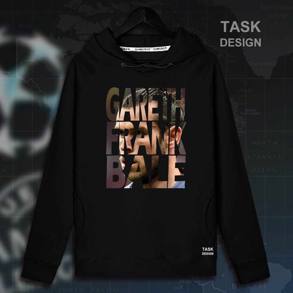 Gareth Bale Men pullovers hoodies sweatshirt Clothing streetwear tracksuit real casual Wales footballer Madrid star spring 02