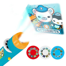 Mini Projector Torch Educational Light-up Toys for Children Kids Develop Play Sleeping Stories Perform Set Child Gift