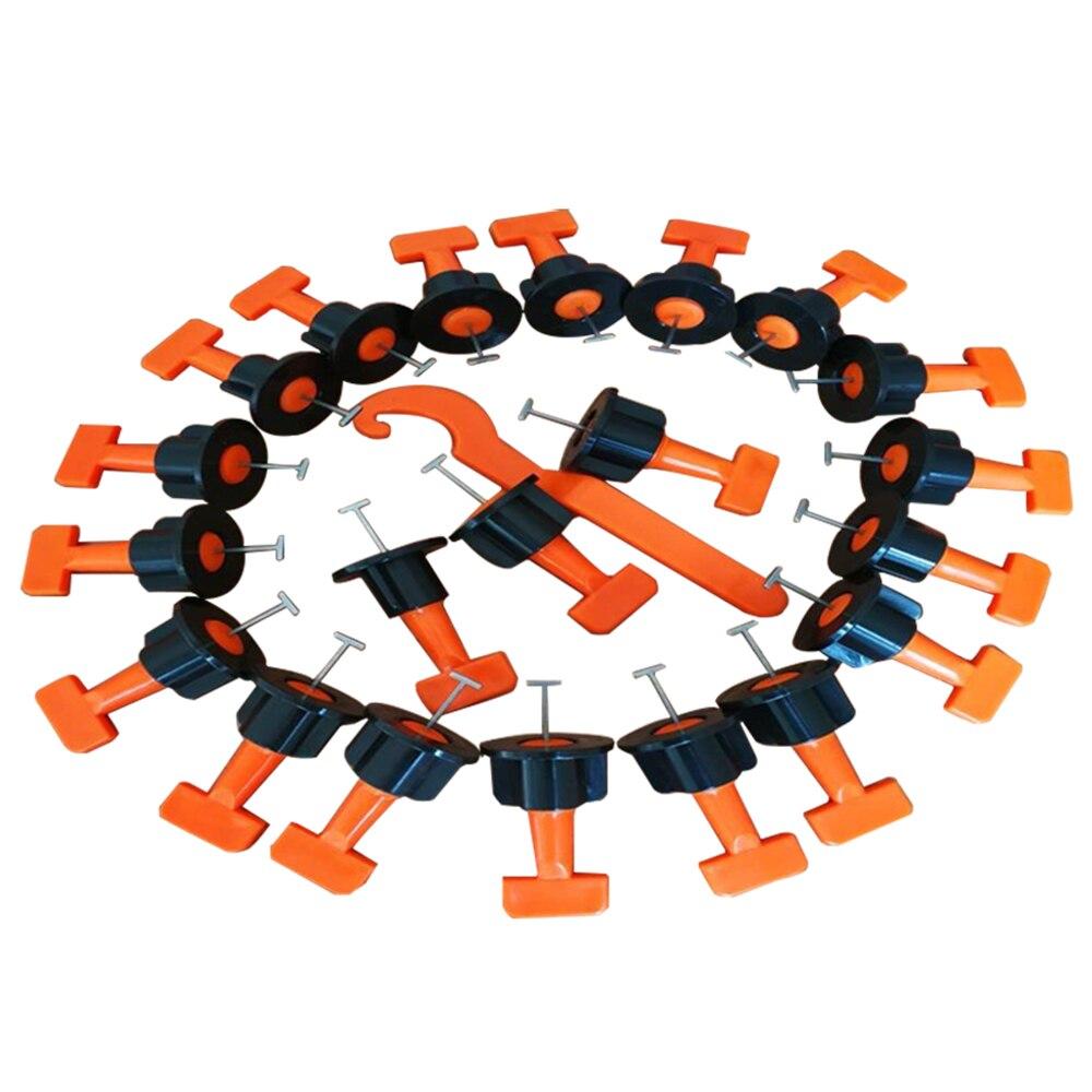 50 PCS Mini Livello Zeppe Piastrelle Distanziali Per Il Pavimento di Piastrelle Sistema di Livellamento Equalizzatore Locator Distanziatori Pinze Strumento di Costruzione di Parte