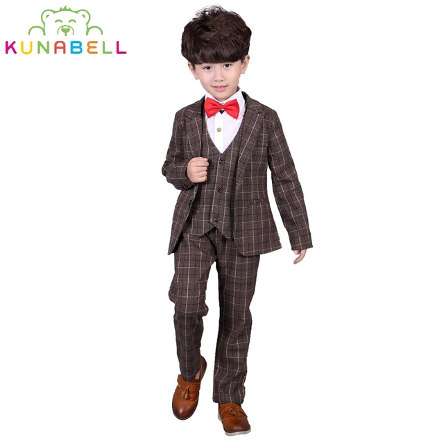 Children Formal Prince Brand Suit Baby Boys Suits Kids Blazer ...