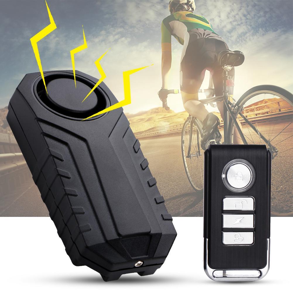 4.5V Waterproof Burglar Security Alarm Anti-theft Sensor For Door Bicycle Motorcycle