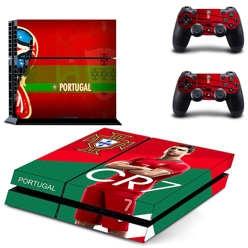 HOMEREALLY Stickers 2018 RU world cup PS4 Skin Cover For Sony PlayStation 4 Console and Controller Skin Ps4 Accessory Sticker-in Stickers from Consumer Electronics