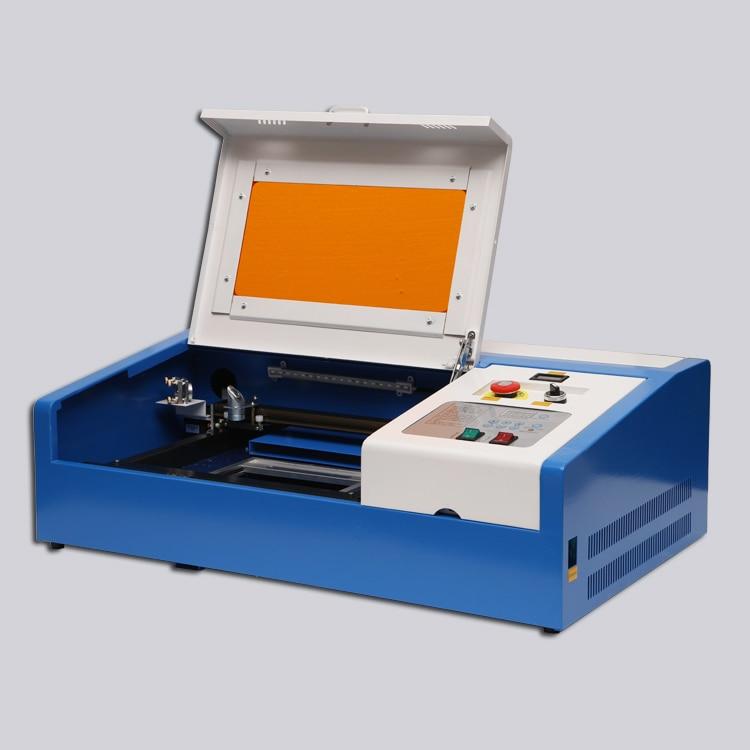 EU Free Shipping CO2 Laser Engraving Cutting Machine 40W With USB Port