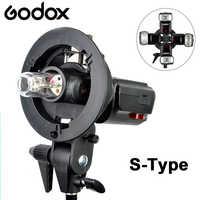 Godox S-Typ Halterung Bowens S Halterung Für Foto Studio DSLR Kamera-Speedlite Licht Softbox Reflektor Regenschirm