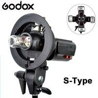 Godox s-тип кронштейн Bowens S монтажный зажим камера для студийной фотосъемки Photo Studio DSLR Вспышка Speedlite свет Отражатель софтбокс зонтик