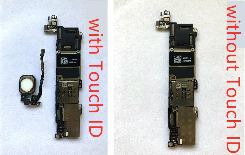 Хорошая рабочая материнская плата с touch ID для iphone 5S 16 ГБ 32 ГБ 64 ГБ разблокированная материнская плата установка логическая плата системы IOS с
