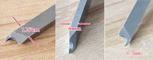 """Image 5 - Hss 포로 링 공구, wooturning gouge 9.5mm (3/8 """")"""
