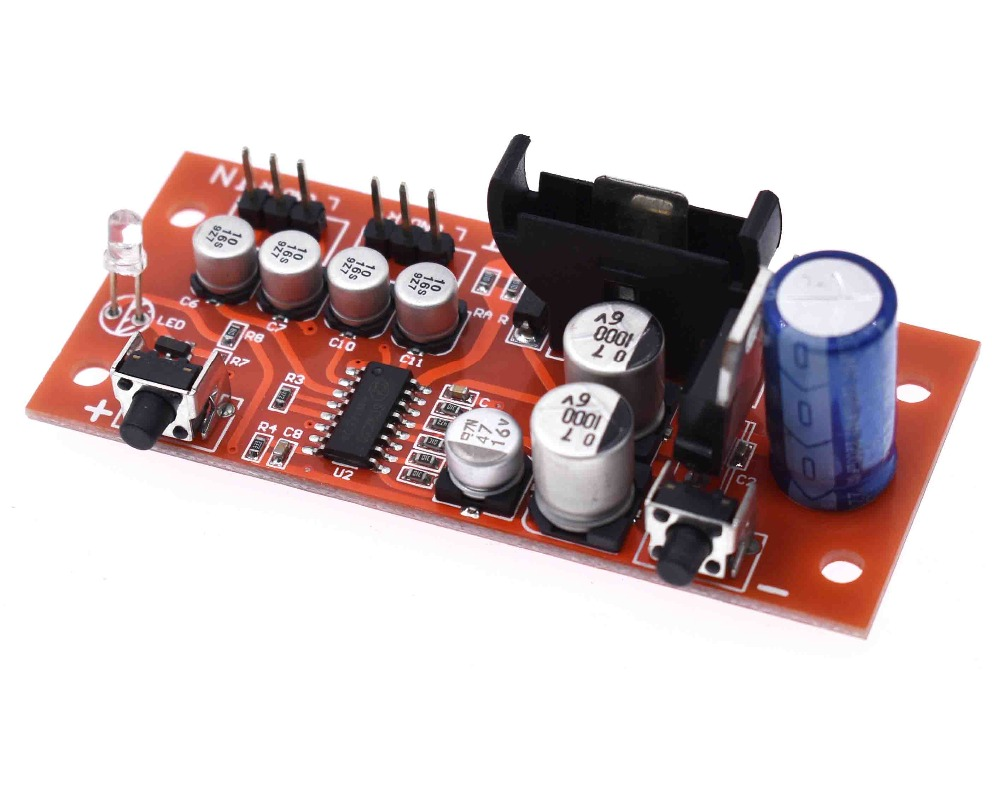 Electronic volume control panel. Digital volume potentiometer - with power off m