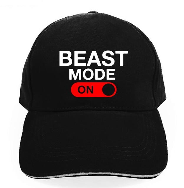 Men women cap BEAST MODE ON skateboard Snapback hats brand hip hop golf caps  sun visor fashion street skateboard casquette 7d906a0fa2