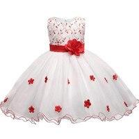 Hoa Mùa Hè Bé Wedding Dress Cô Gái Bên Mặc Kids Quần Áo Trẻ Em Trang Phục Công Chúa Prom Gown Dress Infantis Vestido Menina