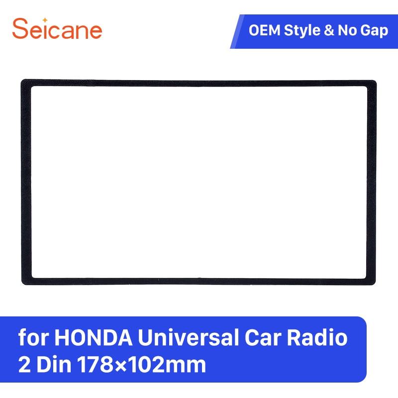 Seicane 2Din 178*102mm Installation Panel Kit Stereo Dashboard Auto ...